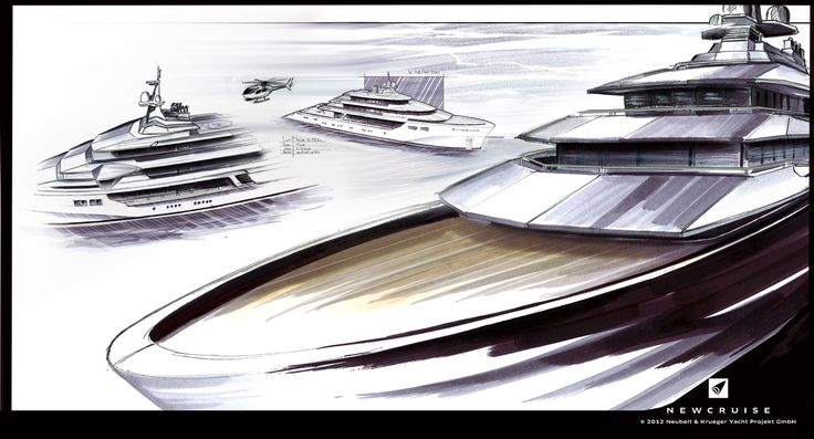 Adventure concept study MY Gentleman Cruiser 70 by NEWCRUISE Yacht Projects & Design