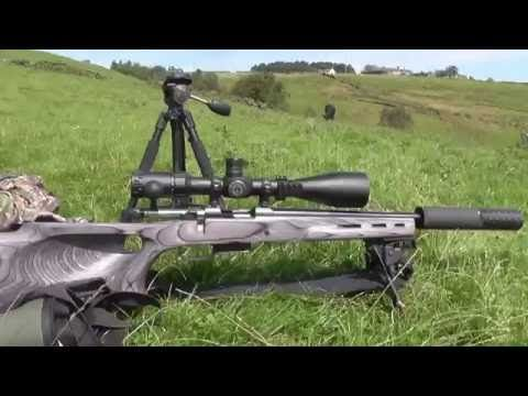 CZ 452 22lr and CZ 527 22 Hornet Precision Pest Control - YouTube