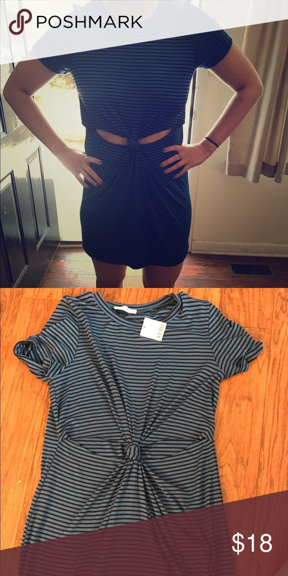 Urban Outfitters Cut Out T Shirt Dress Super casual and easy to wear. Works with a normal bra. Never been worn. Fits M/L Honey Punch Dresses Mini