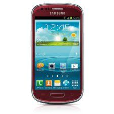 Samsung Galaxy S III Mini I8190 Red / Gt-i8190 S3 Mini , 4.1 Jelly Bean ,4 Inch Specail Gift for Special One Fast Shipping