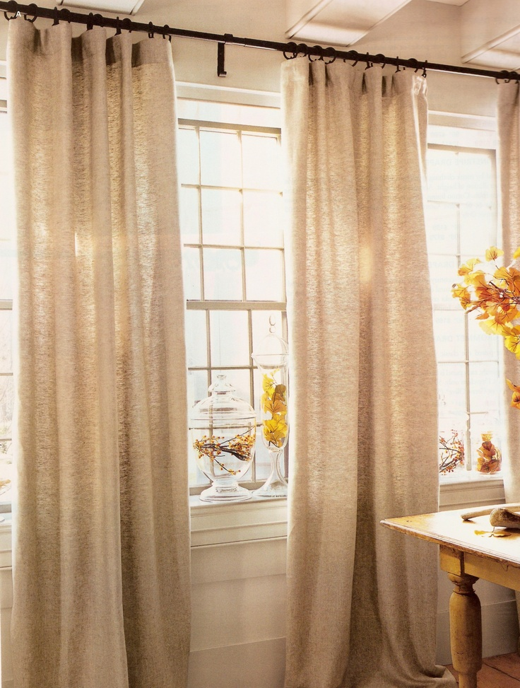 Best 25 long curtains ideas on pinterest long window for Long window curtain ideas
