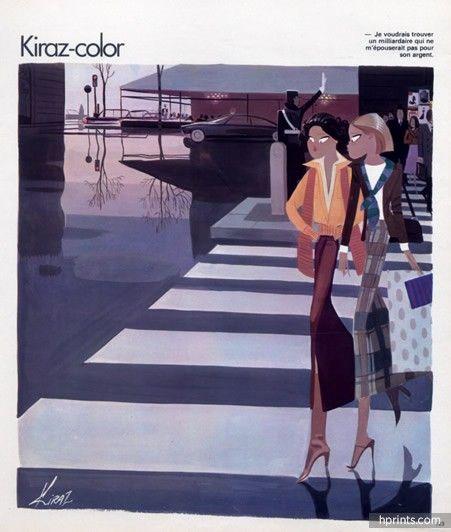 Edmond Kiraz 1977 Les Parisiennes, Shopping