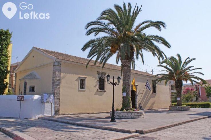 Ιερός Ναός Αγίων Αναργύρων Agion Anargiron Lefkada