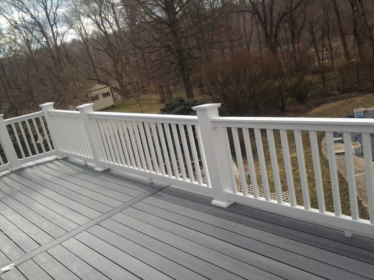 Best vinyl deck ideas on pinterest