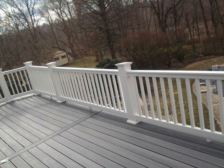 Best ideas about vinyl deck railing on pinterest