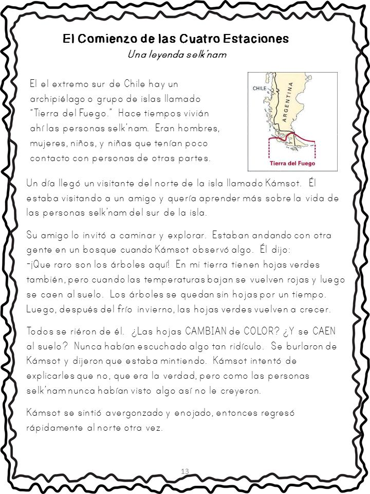Spanish Reading Comprehension Packet {Cuentos Folkloricos y Leyendas}