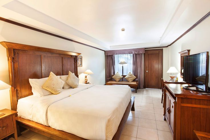 Deluxe Room Ramayana Resort and Spa is a comfortable guest room with private balcony overlooking to the garden and Bali Star Island offers best room rates