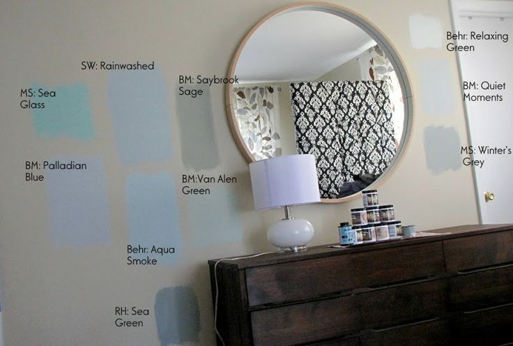 Love The Rainwashed Paint Color By Sherwin Williams