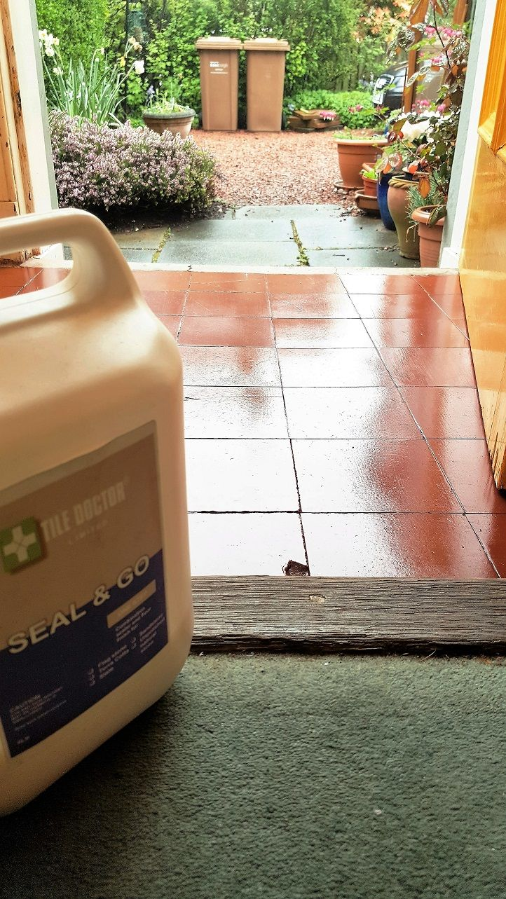 Best 25 quarry tiles ideas on pinterest kitchen quarry tile the restoration of this old quarry tiled porch floor was carried out at a house in dailygadgetfo Choice Image