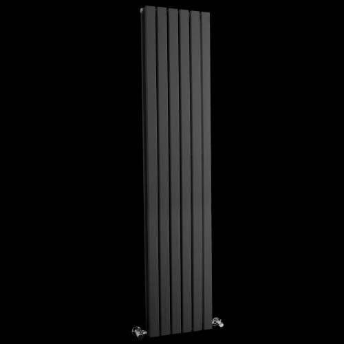 Paneel Heizkörper aus Stahl - Sloane Anthrazit- 1700 Watt - 1600 x 354mm - Image 1