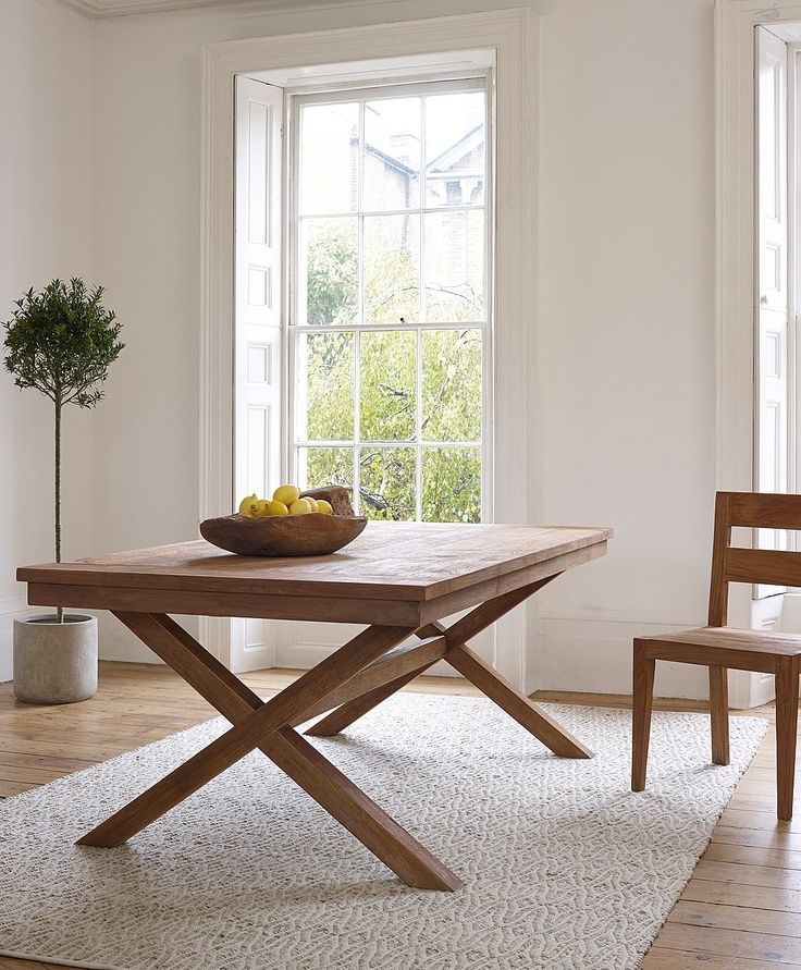 Padang Wooden Dining Table from Lombok