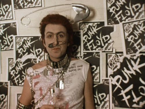 the punk floyd, eric idle as sir dirk mcquickly after he left the rutles, 1979