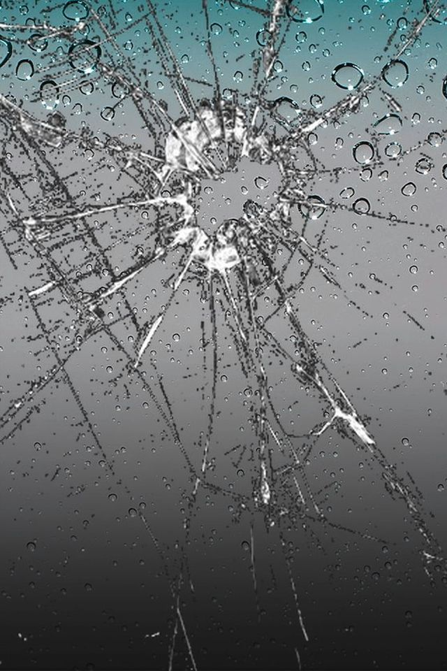 Broken iphone screen wallpaper