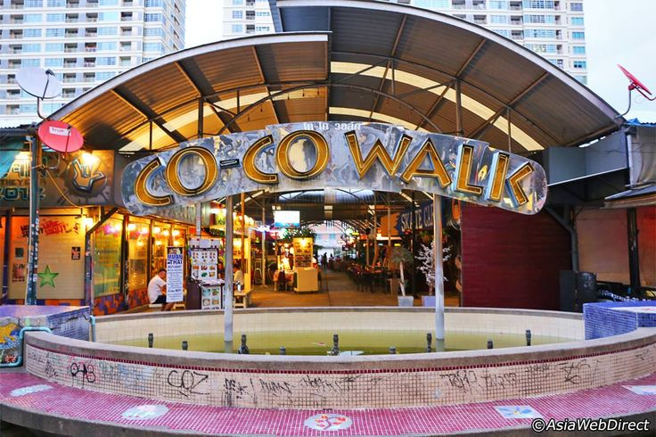 Coco Walk in Bangkok is a lively little alleyway off Phayathai Road in the heart of the city, perfectly set up some bar hopping, Thai-style. The small soi of bars, pubs and restaurants lies in the shadow of the huge Ratchathewi BTS Skytrain Station, meaning that although this