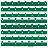 Скандинавский узор бесшовные Зеленые и белые полосы Abstrakt фон
