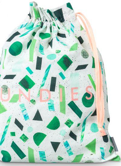 Oliver Bonas drawstring bag