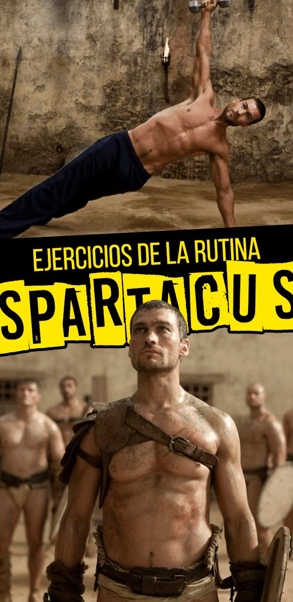 10 ejercicios que debes intentar para volverte un guerrero espartano; ¡Es la rutina Spartacus!