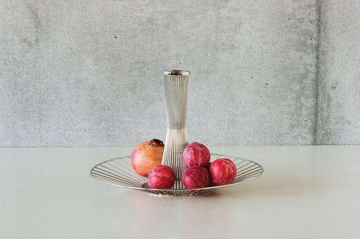 Brand new version of the etagiere designed by Aurélien Barbry for the Danish designer brand Georg Jensen.