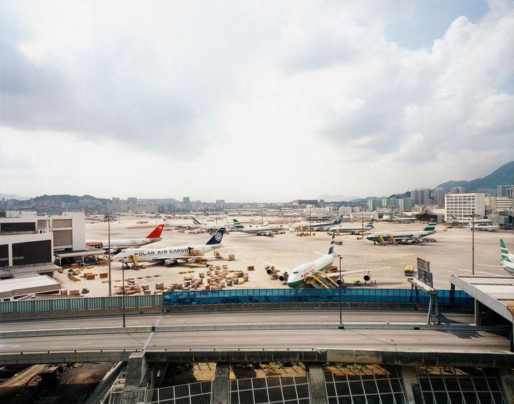 Andreas Gursky Hong Kong, Flughafen Flughafen, Andreas