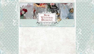 ***Valentine Design....Custom Blog Design: Custom Blog Design: Sew Vintage Designs