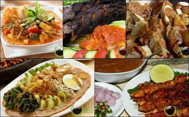 Indonsia famous cuisine