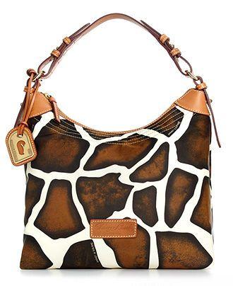 Dooney & Bourke Handbag, Large Nylon Erica Bag - Handbags & Accessories - Macy's