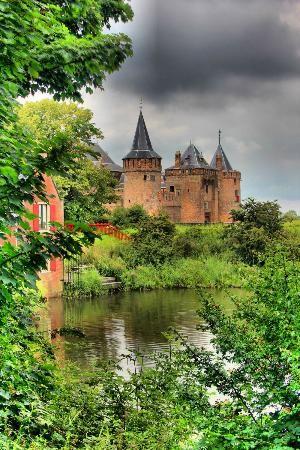 Castillo Muiderslot - Muiden, Holanda del Norte -