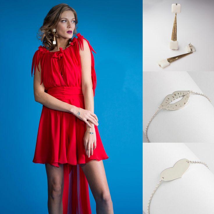 Color Power Outfit Potere al colore. Anche d'inverno la forza e la vivacità dei colori: rosso, viola, celeste, giallo