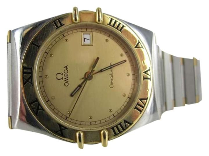 Omega GENTS OMEGA CONSTELLATION WATCH 18K GOLD   STAINLESS STEEL TWO TONE MENS