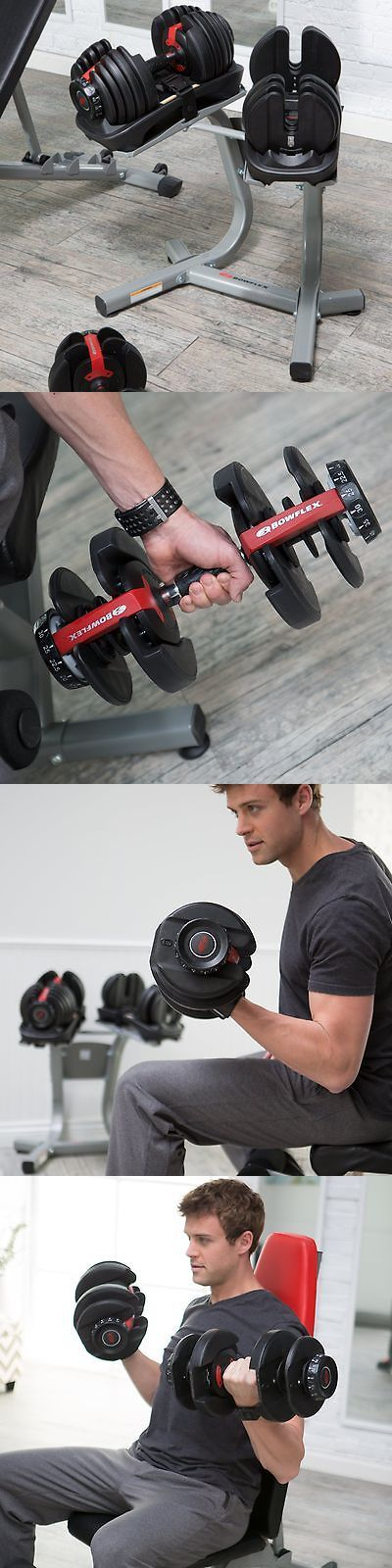 Home Gyms 158923: Bowflex Selecttech 552 Adjustable Dumbbell Set - 5-52 Lbs. -> BUY IT NOW ONLY: $299 on eBay!