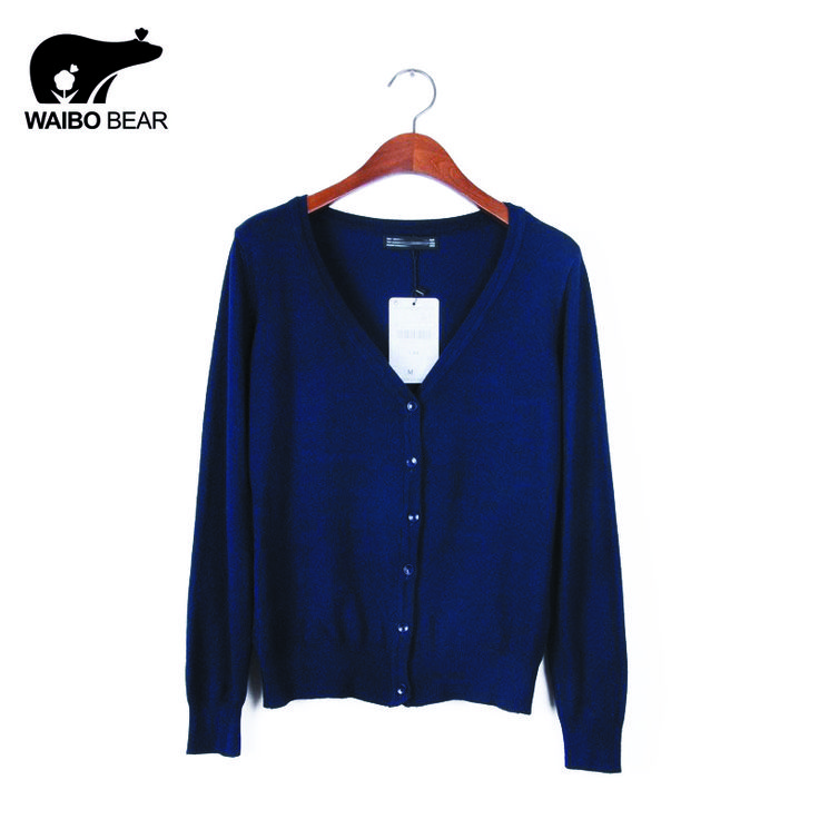 High quality Eleven Color CARDIGAN  NEW BRAND Knitted Sweater Women Large size Loose long sleeves Cardigan Sweater woman
