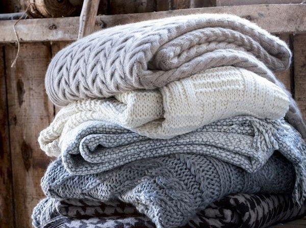 tejidos para pie de cama o mantas