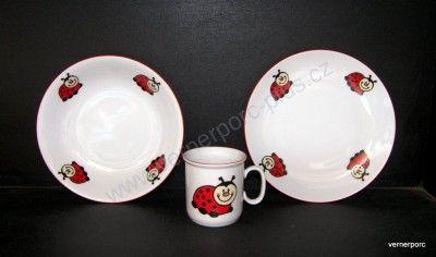 Dětský porcelán Angelica, Beruška Thun