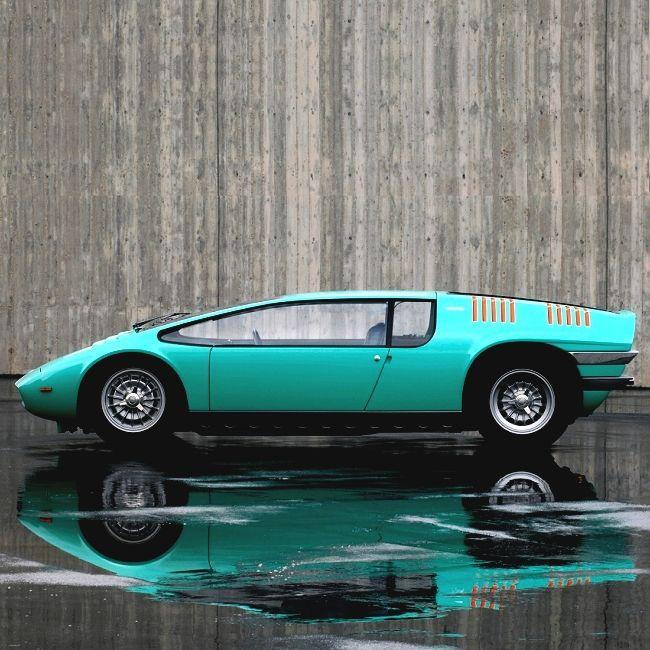 1968 Bizzarrini Manta | P538 | Sports Car | One-Off Concept | ItalDesign | 5.4L Chevrolet 90 V8 355 hp