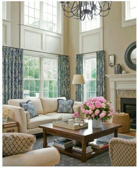 Family In Living Room: 11 Best Two-Story Family Room Images By Shona Sorensen On