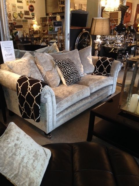 Stunning Silver Sofa From Benjamins Interiors Cardiff SofaCardiffBedroom IdeasSofas