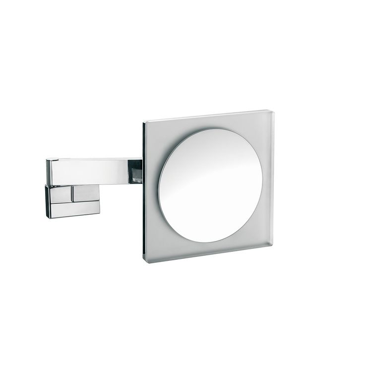 Pics On Exquisite modern high end elegant LED lighted wall mounted bathroom hard wired magnifying mirror