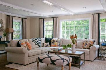 Kid Friendly Mother Approved - beach-style - Family Room - New York - Rebecca Reynolds Design -New Canaan Kitchens