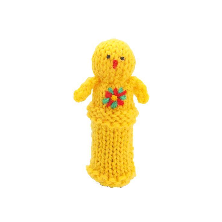 ひよこの指人形   ihanaa−北欧とバルト三国の毛糸と 雑貨のセレクトショップ