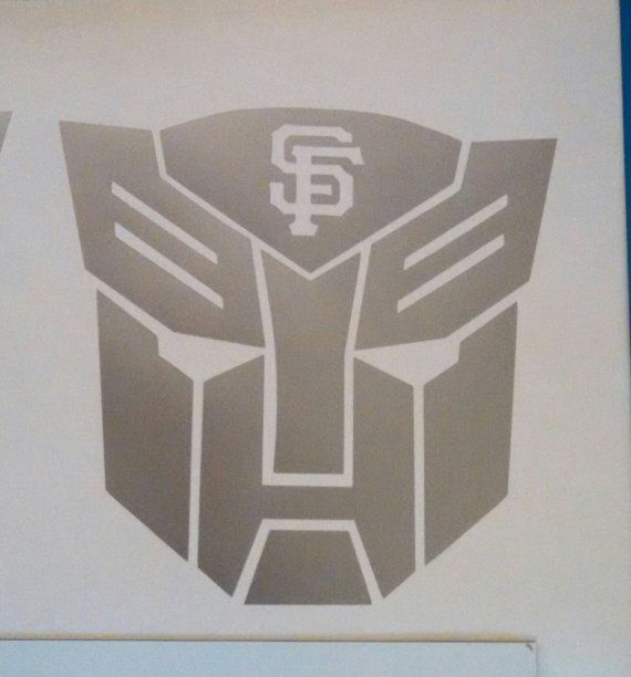 Check out this item in my Etsy shop https://www.etsy.com/listing/486860356/sf-giants-transformers-autobot