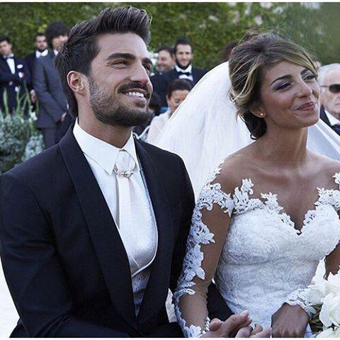 Wedding of Mariano Di Vaio, Spanish model and Eleonora Brunacci. Photo from fashion.life_style.
