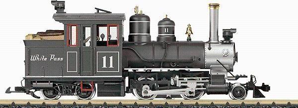 TrainCraft By Klaus: LGB Alco Diesel White Pass --- Part 2  |Lgb Engine Cow