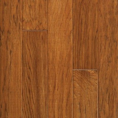 Hickory Prefinished Engineered Spring Loc Hardwood Flooring By Harris Wood.  Finish Shown: Caramel Www