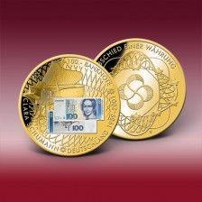"""Banknoten-Prägung """"100 DM-Schein - Clara Schumann 1989"""""""