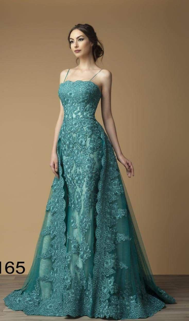 Vestidos De Fiesta Turquoise Dress Gowns Pretty Dresses