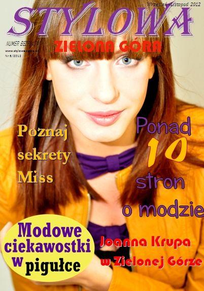 www.stylowa.zgora.pl E-magazyn nr 4 Fotograf: Aleksandra Krystians
