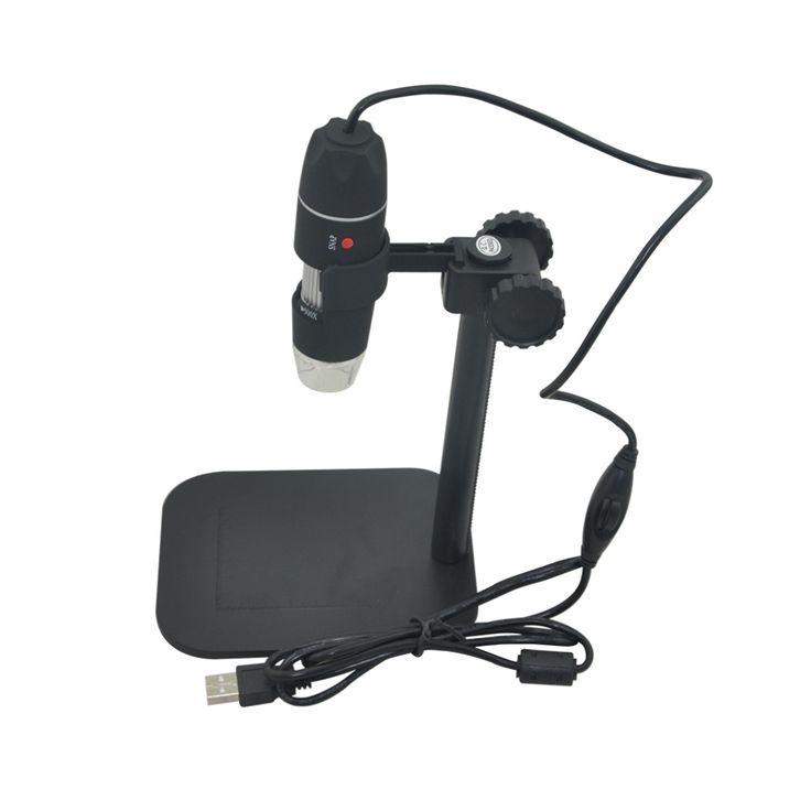50X 500X USB LED Dijital Elektronik Mikroskop Büyüteç Kamera Siyah için Pratik Kamera Mikroskop Endoskop Büyüteç 2016Hot