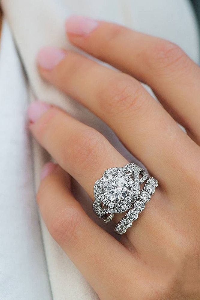 36 Stunning Bridal Sets That Will Conquer Her Heart Diamonds Wedding Engagement Rings