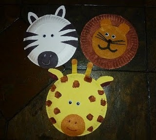 Paper Plate Animals!