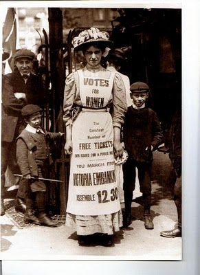 Suffragette. This photograph is one that will always give women an inner power if they knew the history of it. This helped me get into the right mindset of Century of Britains Exhibition Project. By using strong elements that stood out.